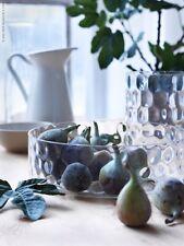 Ikea Glasschale Handmade Mundgeblasen Schale Obstschale Kerzen Deko Glas Unikat
