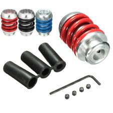 Spring 5 Speed Universal Aluminum Manual Car Gear Shifter Stick Shift Knob Lever