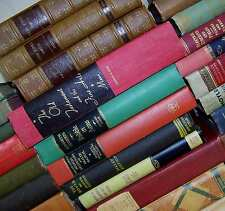 Lot of 5 ANTIQUE & VINTAGE Old Books Collection Set MIXED UNSORTED Hardcovers