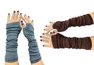 Fingerless Long Gloves Winter Hand Warmers