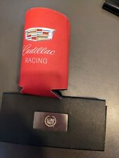 Rare Official Cadillac Wine cork screw & bottle opener and Cadillac Racing cozy