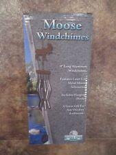 Rivers Edge Moose Aluminum Windchimes