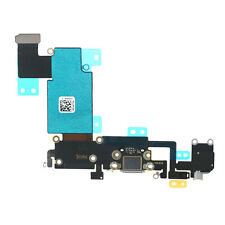 """For iPhone 6S Plus 5.5"""" Grey Charging Port Headphone Jack Mic Flex Cable Dock"""