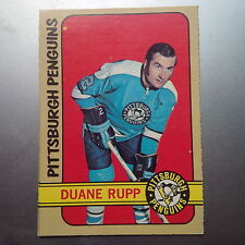 1972-73 OPC O-Pee-Chee #154 Duane Rupp Pittsburgh Penguins - EX-MT