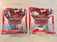 DISNEY PIXAR WORLD OF CARS MEL DORADO SHOW CHASE LOT BUNDLE LEE RACE GUIDO WHEEL