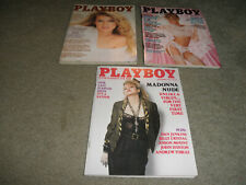 Playboy Magazines -MADONNA NUDE_TERRI WELLES_MARIANNE GRAVATTE VF/NM