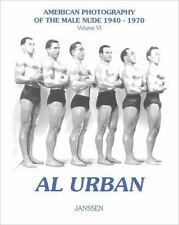 Al Urban Vtg 40s Figure Study Male Nude beefcake muscle bodybuilder physique gay