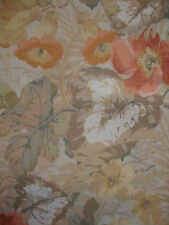 2yards11ins Sanderson Exbury Vintage Linen Union Upholstery Fabric Remnant