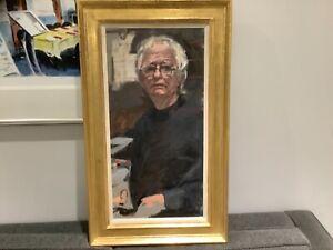 Ken Howard   OBE.  RA Ken Howard at 76  oil on canvas