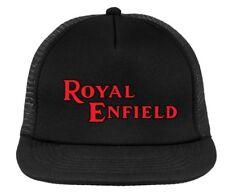Royal Enfield retro motorcycle cap, vintage trucker hat , snapback
