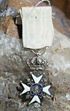 1815  Ordre de la Fidélité au ROI  . Décoration du lys