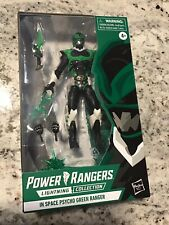 Power Rangers In Space Psycho Green Ranger Lightning Collection Rare