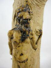 AUSTRALIAN POTTERY VASE BY RICKETTS C1930'S ABORIGINAL ELDER