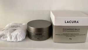 Lacura Cleansing Balm & cleansing cloth with Moringa Oil- 90g- New in sealed box