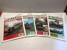 Locomotives Illustrated Magazine 4 Back Issues from 2000 -Vol #129-132