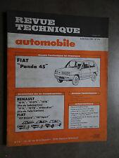REVUE TECHNIQUE AUTOMOBILE RTA FIAT PANDA RENAULT 15 R15 FIAT 127 BRAVA 1981
