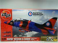RAFBF DESIGN A HAWK A50140 1/72ND SCALE AIRFIX KIT + PAINTS EXAMPLE T3412Z(=)