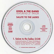 "KOOL & THE GANG feat. JT TAYLOR ""SALUTE TO THE LADIES"" SPANISH PROMO CD SINGLE"