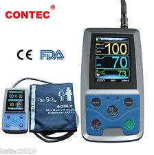 CONTEC CE FDA Automatic 24 Hours Arm Ambulatory Blood Pressure Adult ABPM50 + SW