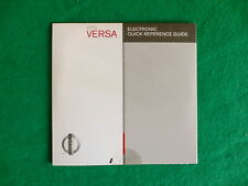 2010 10 Nissan Versa  Owners Manual A13A