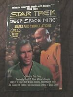 STAR TREK DEEP SPACE NINE PAPERBACK BOOK - TRIALS AND TRIBBLE-ATIONS