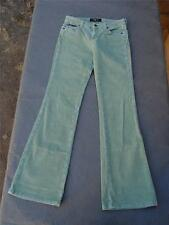 LEI Life Energy Intelligence Size 3 Boot Cut Light Green Stretch Corduroy Jeans