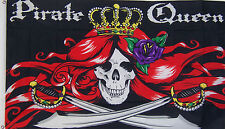 NEW LARGE 3ftx5ft PIRATE QUEEN BANNER STORE FLAG