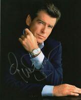Autographed Pierce Brosnan signed 8 x 10 photo