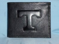 TENNESSEE VOLUNTEERS  Leather BiFold Wallet  NEW  black