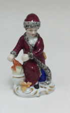 Charming 20th Century Vintage German Sitzendorf Figure 'Winter'