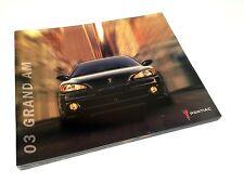 2003 Pontiac Grand Am GT Brochure