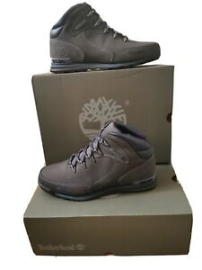 Timberland Euro Rock Hiker Dark Grey Nubuck Uk 8 Eu 42 RRP £135