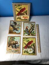 Vintage Jigsaw Puzzles  National Wildlife Federation 4 In One Mini Puzzles