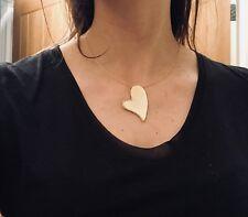 Colgante de Corazón de plata esterlina con elementos de Swarovski