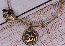 Alex and Ani Om Charm Gold Bracelet 2014