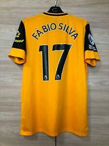 Wolverhampton Wanderers 2020-2021 Fabio Silva #17 Home Shirt Jersey Rare size M
