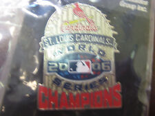 2006 World Series Champs Trophy Pin - St. Louis Cardinals