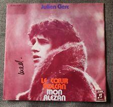 Julien Clerc, le coeur volcan / mon alezan, SP - 45 tours import