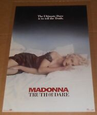 Madonna Truth or Dare #8132 Poster Original 35x23
