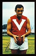 1971 Mobil North Adelaide Bob Hammond card number 5 SANFL Footy Photos r