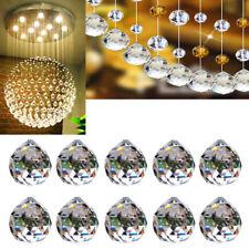 5pcs Chandelier Crystal Ball Hanging Drop Lamp Prism Part Pendant Home 20mm us