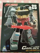 Mech Fans Toys Robot MFT  MF-25 Dinobot Grimlock With Initinal Parts New