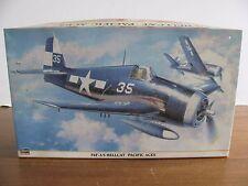 "Hasegawa 1/32 Scale F6F-3/5 Hellcat ""Pacific Aces"" #08119 NIB"