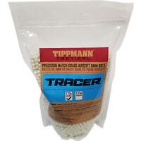 Tippmann Tracer Precision Match Grade 6mm Airsoft BB's Light Green - .20g / 5000