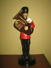 Michael Sutty porcelain soldier - Royal Regiment of Fusiliers Tuba Player