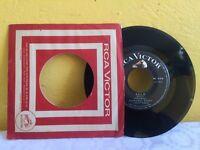 "SAGRARIO BAENA -SOLO / SI NECESITAS DE- 1967 MEXICAN 7"" SINGLE CS"