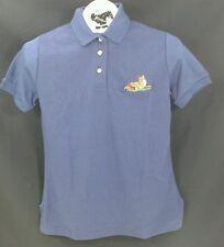 Reed Hill Polo Shirt Navy Juniors Large Fox Design