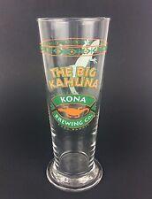 Kona Brewing Co Beer 23 Oz Drinking Glass THE BIG KAHUNA Gecko Lizard 8 1/2 In