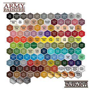 The Army Painter, Warpaints, Multi Listing, Miniature Paints, Wargaming