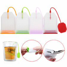 Silicone Mesh Loose Spice Herbal Tea Bag Leaf Infuser Strainer Filter Hot Sales